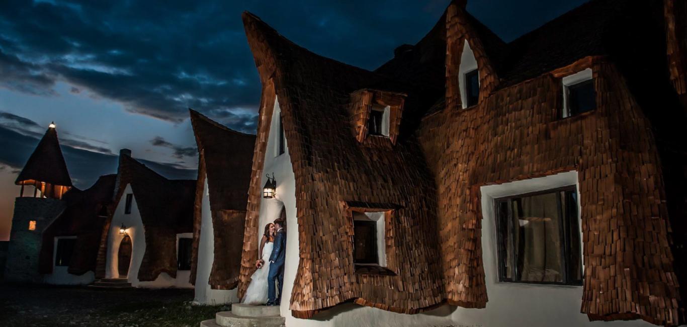 Castelul de Lut de pe Valea Zanelor Sibiu Romania